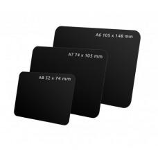 Черная табличка для нанесения надписей А6-А8