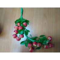 Муляж Яблоки мелкие в связке