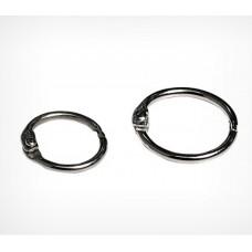 Кольцо металлическое защелкивающееся