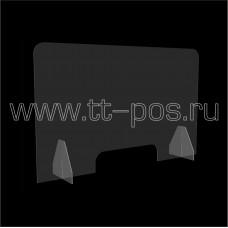 Настольный защитный экран 1000х620х200 мм