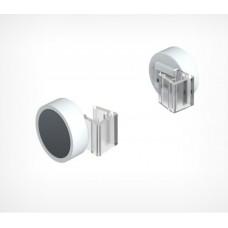 Круглый магнитный держатель рамки под углом 0˚ к поверхности