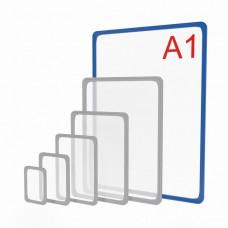 Пластиковая рамка формата А1