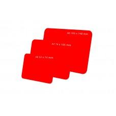 Цветные таблички для нанесения надписей меловым маркером BB А7-А8