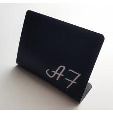 Меловой ценник А7 тип L